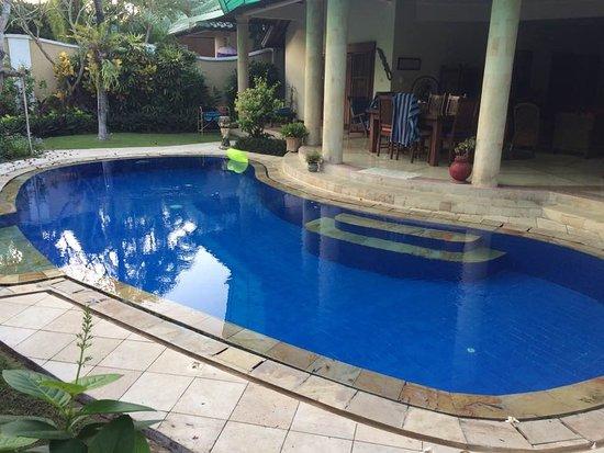 Emerald Villas: Large private pool