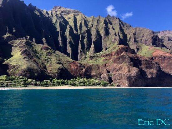 Kekaha, HI: The majestic Na Pali Coast.