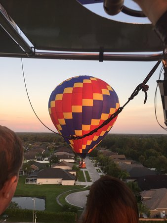 Wesley Chapel, FL: One of seven balloons with us.