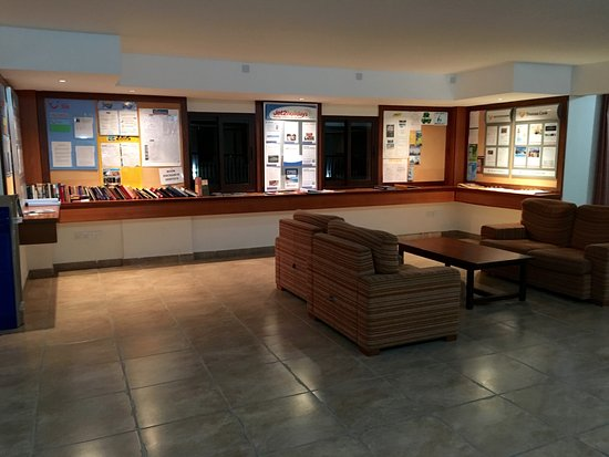 Avanti Village: Holiday Rep Information Area & Book Exchange - Upstairs