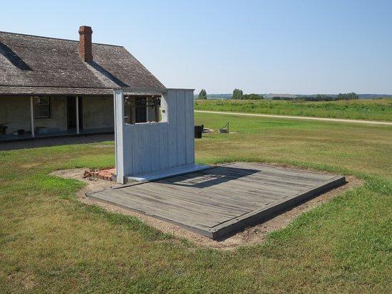 Burwell, NE: Wagon Scale - Ft. Hartsuff