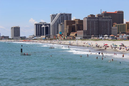 Atlantic City Boardwalk Beach