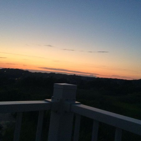 Centerville, MA: Sunset from balcony