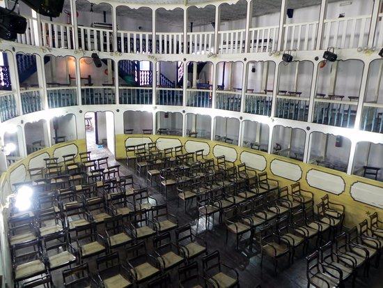 Teatro Municipal: vista das galerias de camarotes