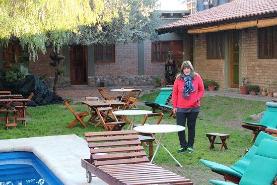 Cerro Del Valle Hotel Rustico: parte del jardin