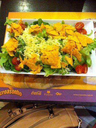 Farroupilha, RS: Salada Mexicana sem filet