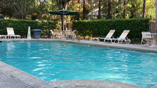 La Quinta Inn Stockton: Outdoor pool