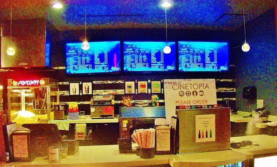 Cinetopia Vancouver Mall 23 The Concession Stand If You Dont Have A Room