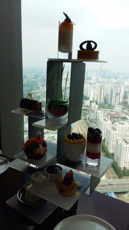 Sheraton Seoul D Cube City Hotel: afternoon tea 세트