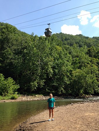 Pipestem, WV: nice ride to the river