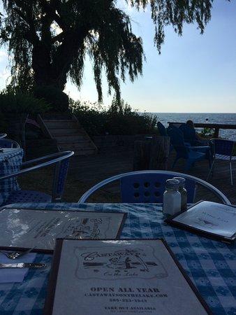 Webster, estado de Nueva York: Our view from the table