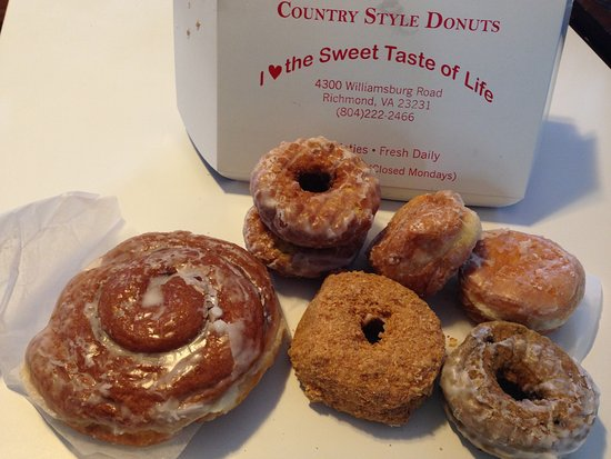 Country Style Doughnuts Photo