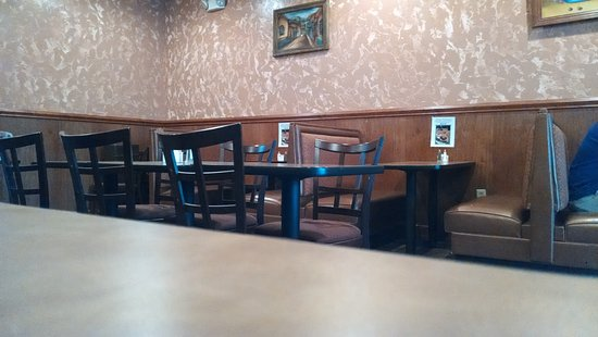 Jefferson ouest, Caroline du Nord : Dining room.