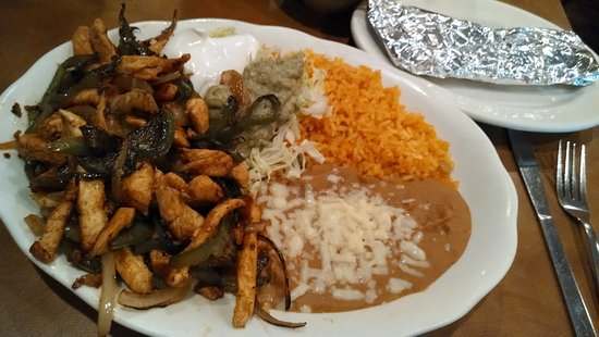 West Jefferson, Kuzey Carolina: Lunch fajitas.