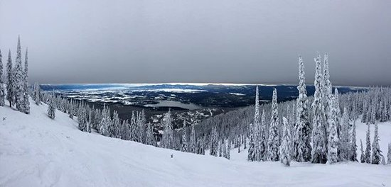 Whitefish Mountain Resort: Top of the mountain