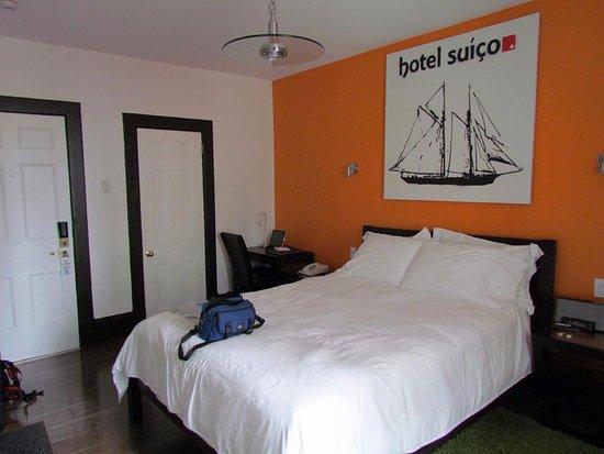 Swiss Hotel: Chambre standard plus
