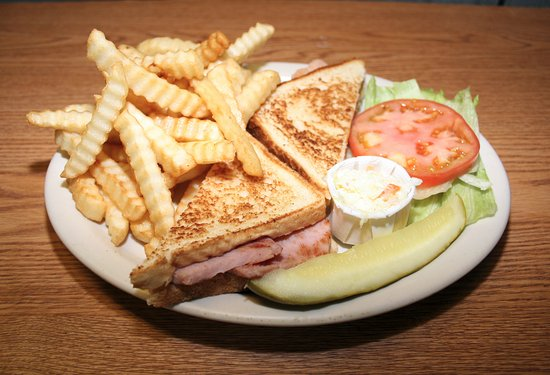 Park Ridge, IL: Grilled Ham and cheese for junior
