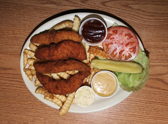 Park Ridge, IL: Chicken fingers for wife