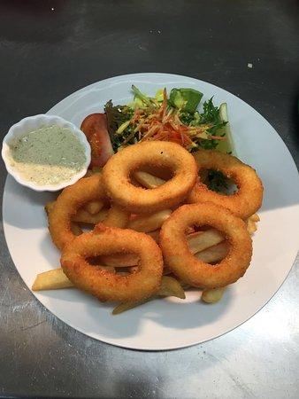 Natalie's Restaurant: Crumbed calamari