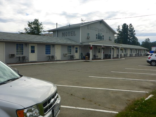 Princeton, Canada: A plain Jane motel, nothing fancy but affordable.