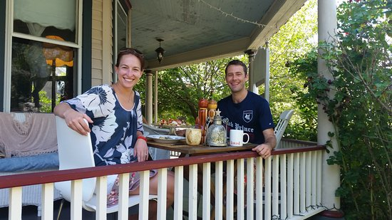 Ruby's Cove Bed and Breakfast: Saturday breakfast. Delicious!
