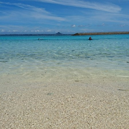 Minna Beach: 水納ビーチ