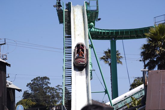 Santa Cruz Beach Boardwalk Log Ride On