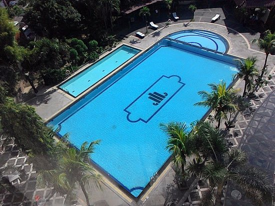 The Sunan Hotel Solo: View from above