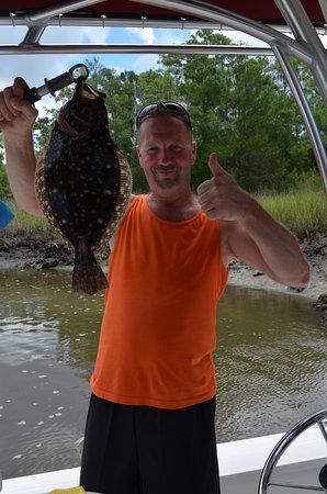 Southport, North Carolina: Flounder!