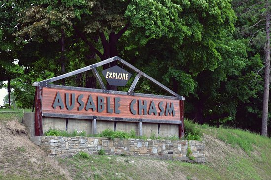 Keeseville, Νέα Υόρκη: Ausable Chasm