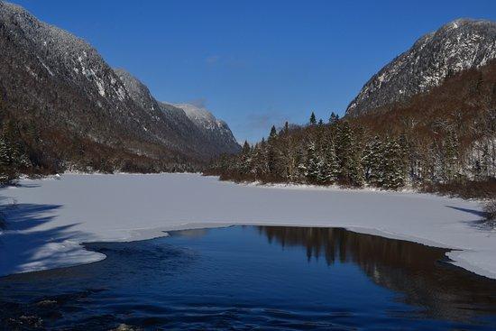 Stoneham-et-Tewkesbury, Canadá: Depuis le Pont-Banc en hiver
