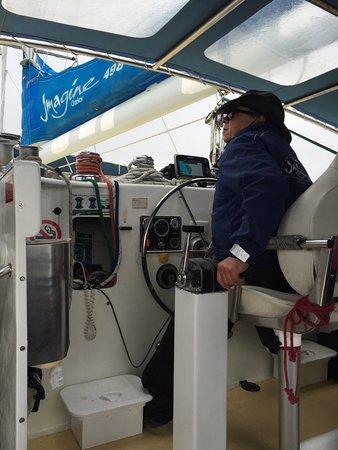 Nelson Bay, Australië: Captain Frank - Imagine Cruises