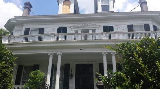 Historic New Orleans Tours: The Benjamin Button house