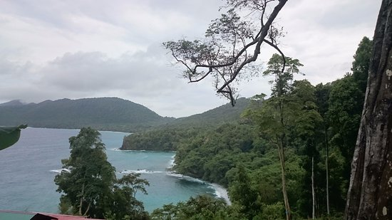 Sabang, Indonesia: View from the road side