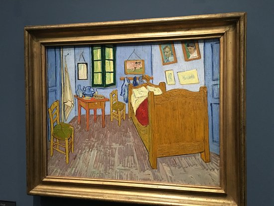 la chambre de van gogh a arles vincent van gogh 1889 d 39 orsay picture of musee d 39 orsay paris. Black Bedroom Furniture Sets. Home Design Ideas