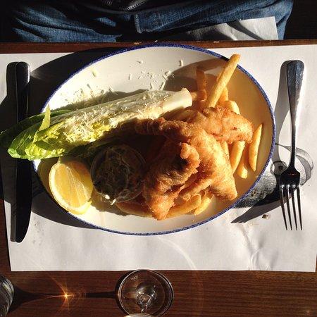 Fish and Chips, The Rocks, Mornington