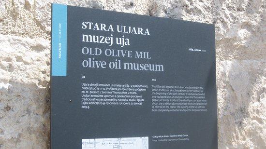 Brac Island, Kroasia: Old Olive Mill