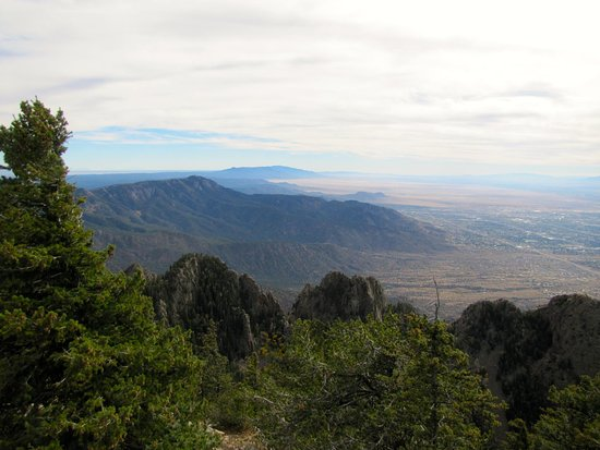 Sandia Park, Nouveau-Mexique : Photo taken from Sandia Crest Overlook