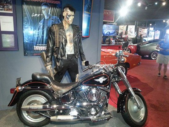 Hollywood Star Cars Museum: Terminator bike