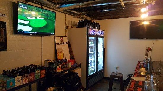 Tysons Corner, VA: Downstairs. Half of the America Craft Beer Selection.