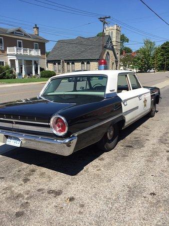 Mount Airy, Carolina del Norte: 1963 Ford Police Cruiser