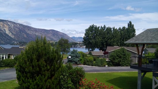 Wapato Point Resort: view from rental home balcony