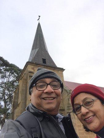 Richmond, Australien: We, at the St John Evangelist's Church