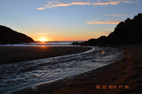 Depoe Bay, OR: February sunset 2015