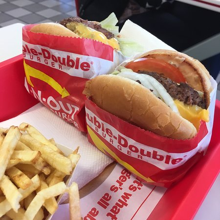 In-N-Out Burger : Double-Doubleバーガー!