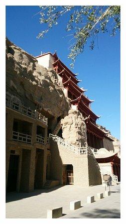 Dunhuang, Cina: Cave view II