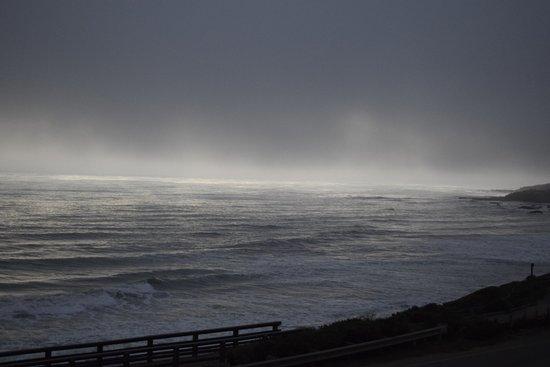 Moonstone Landing: A little foggy, but still beautiful!