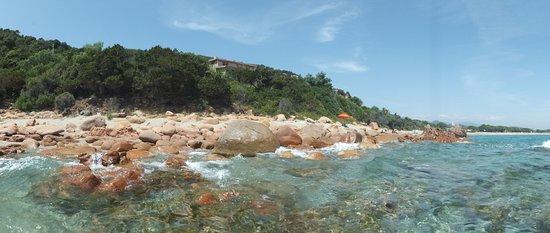 Cardedu, อิตาลี: spiaggia sa perda pera, crystalclear water