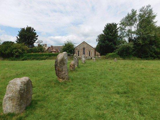 Inner circle of Avebury