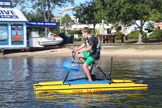 Noosaville, Australien: Water Bike